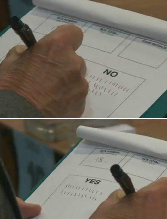"""不会写""""正""""字的英国人统计起选票来真痛苦 - 大江东去 - 大江东去"""